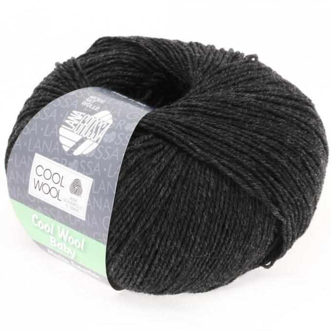 Cool Wool Baby 205 anthrazit