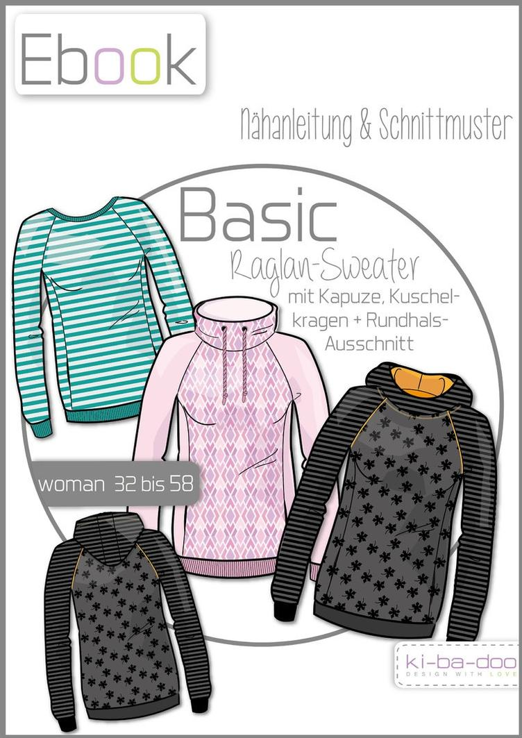 Basic Raglan-Sweater Gr. 32-58