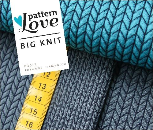 Big Knit jeansblau