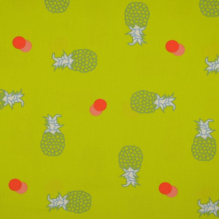 Canvas Ananas lime