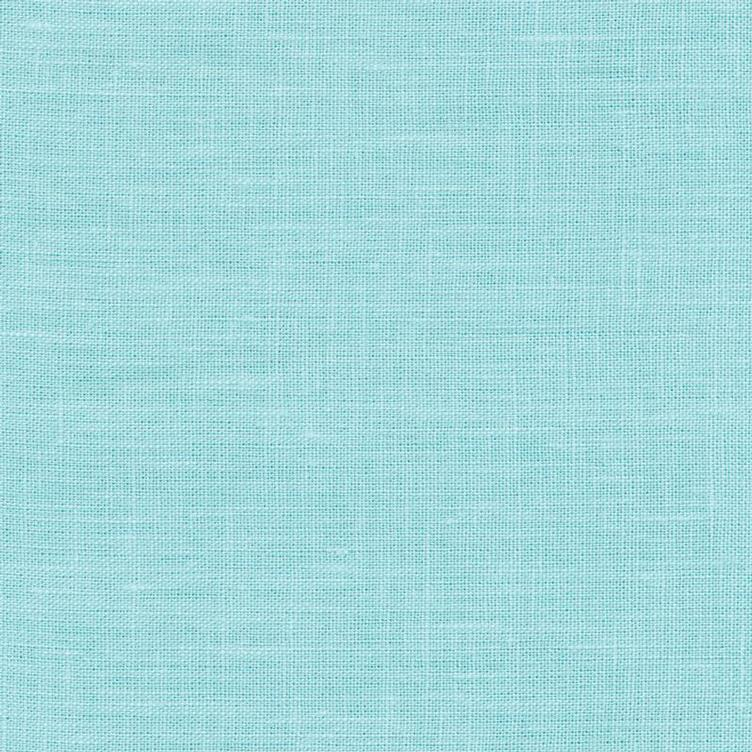 coated linen azur