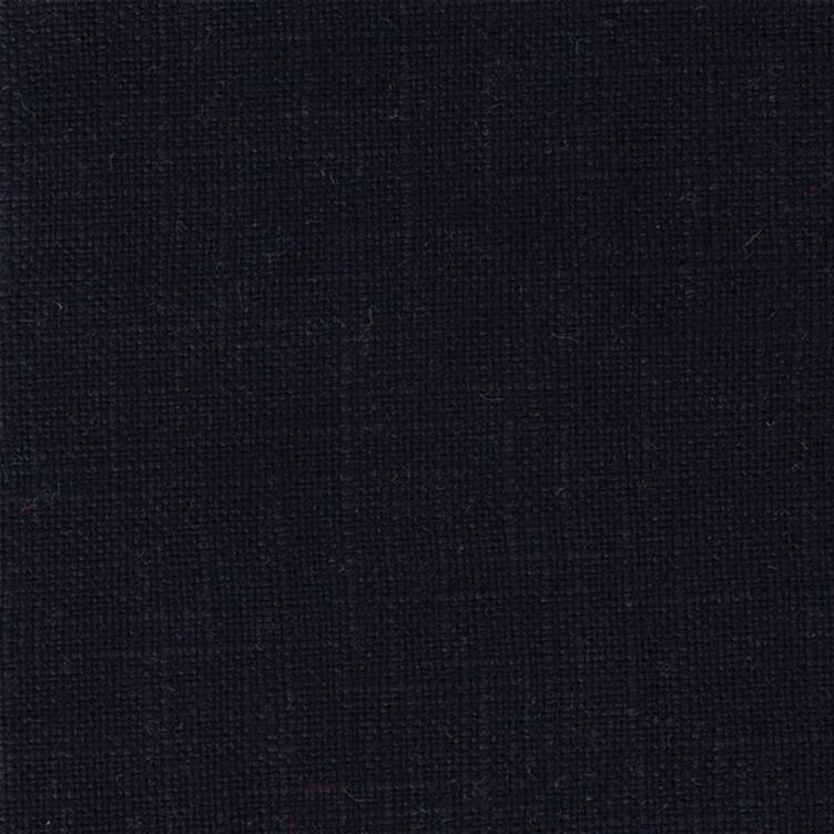 coated linen black