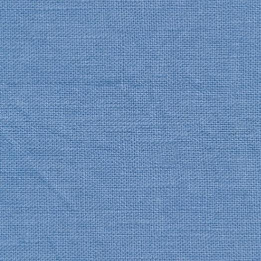 coated linen french blue