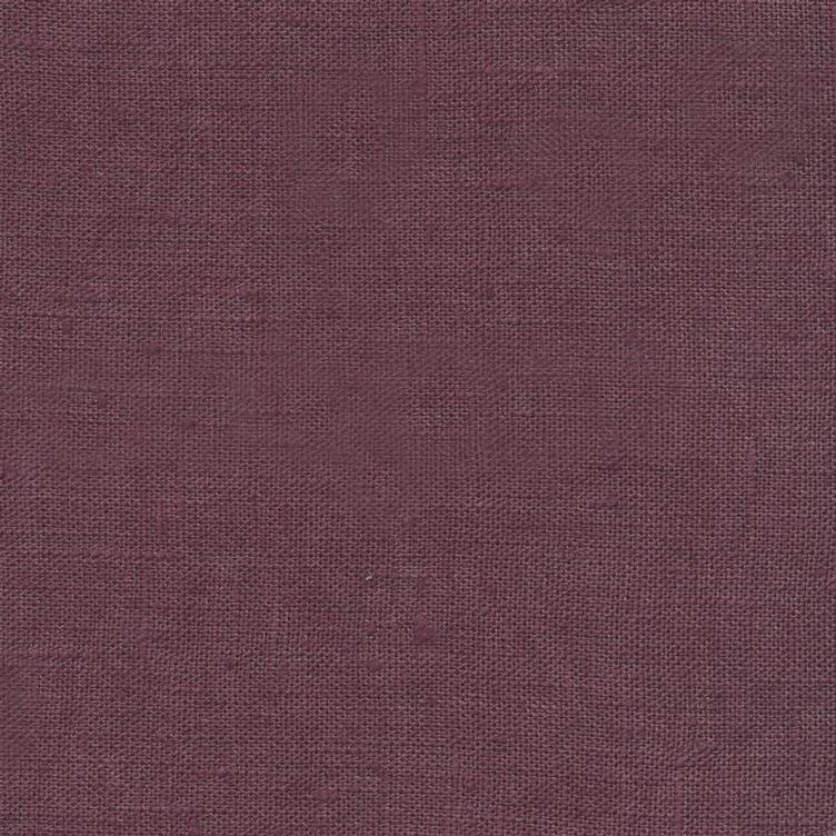 coated linen ginger red