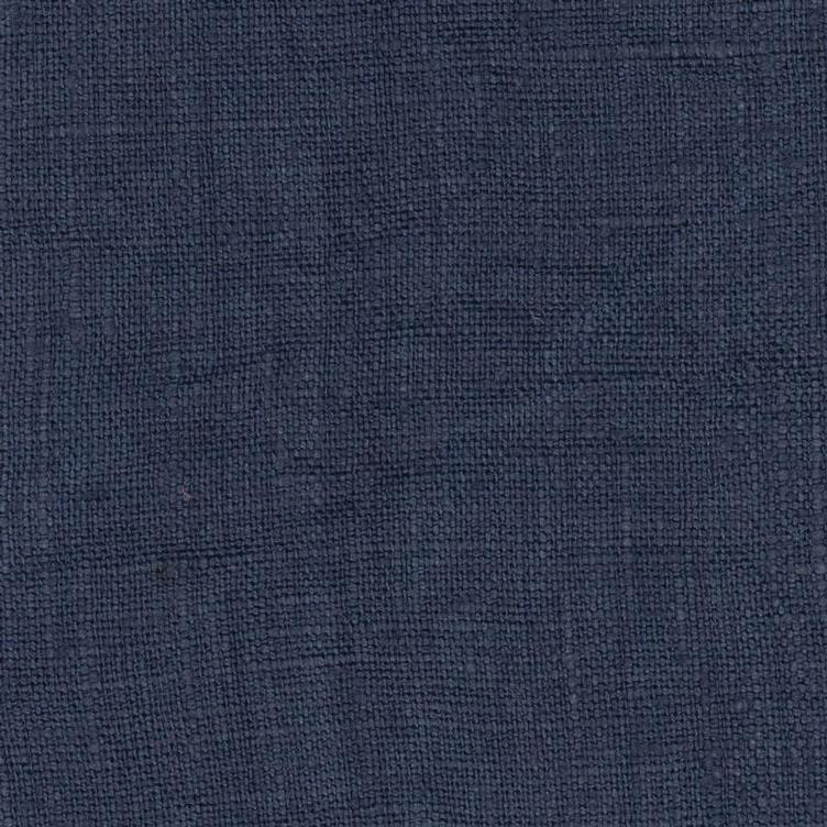 coated linen oxford blue