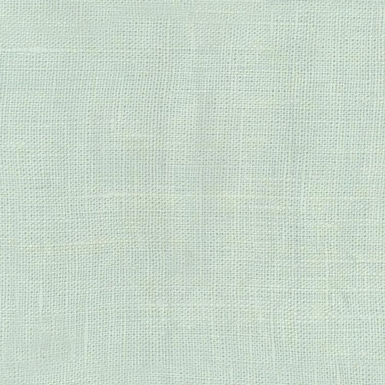 coated linen sweet green