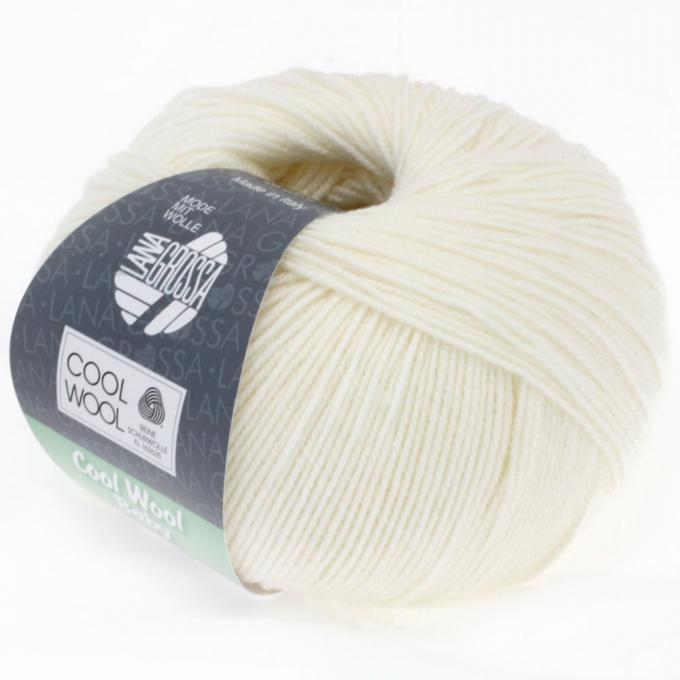 Cool Wool Baby 207 weiss