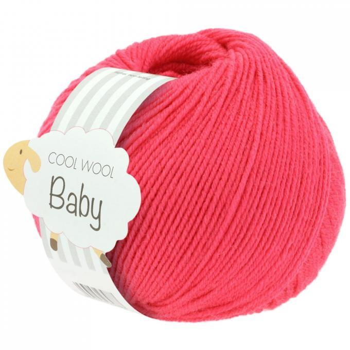 Cool Wool Baby 269 himbeer (25g)