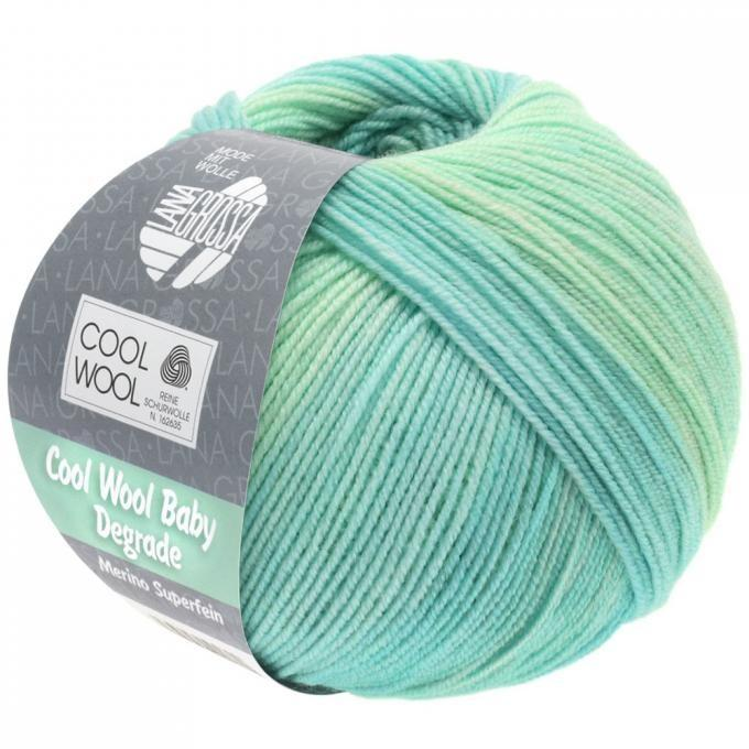 Cool Wool Baby degrade 502 mint