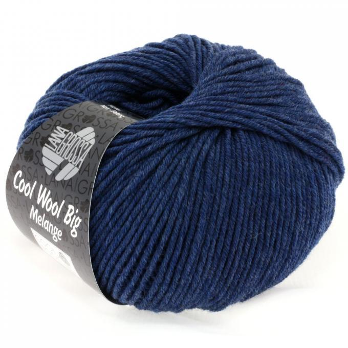 Cool Wool Big Melange 655 dunkelblau