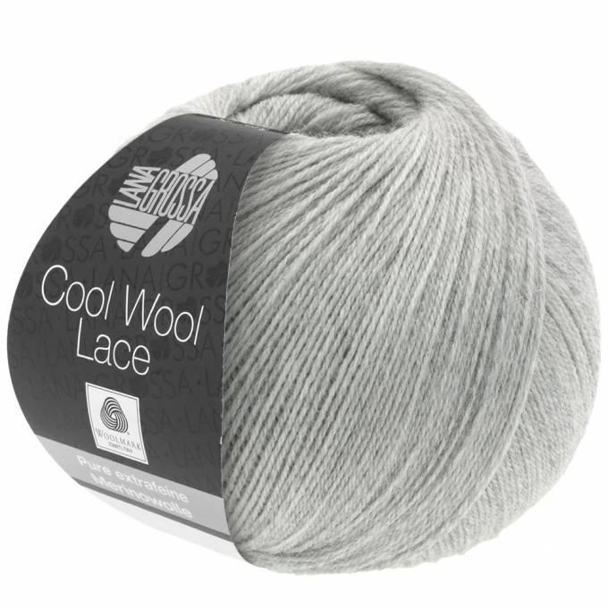Cool Wool Lace 27 hellgrau