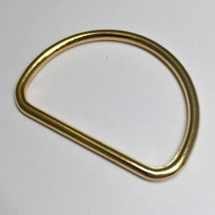 D-Ring 40 mm gold