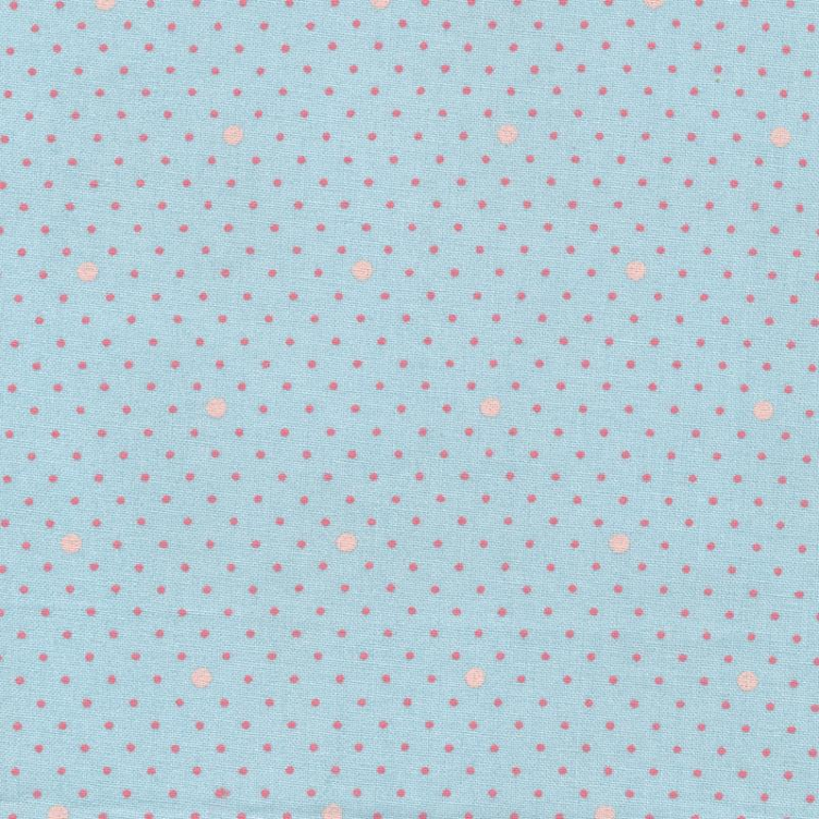 dottie dot aqua sky