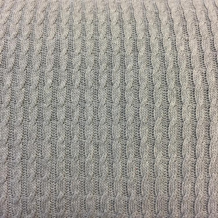 Grobstrick Knitty Plait grau