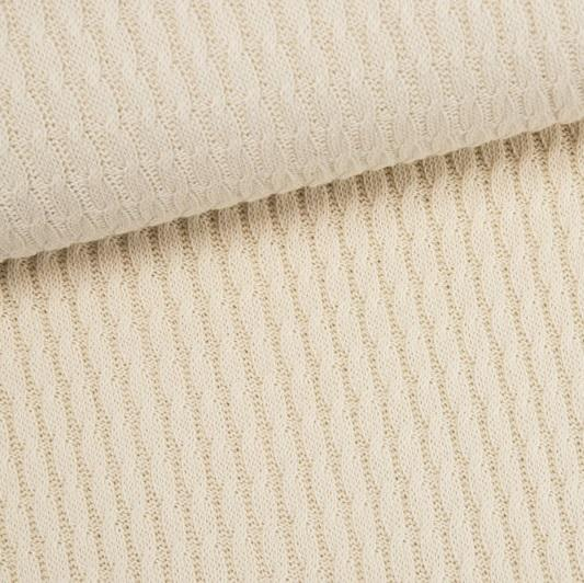 Grobstrick Knitty Plait rohweiss