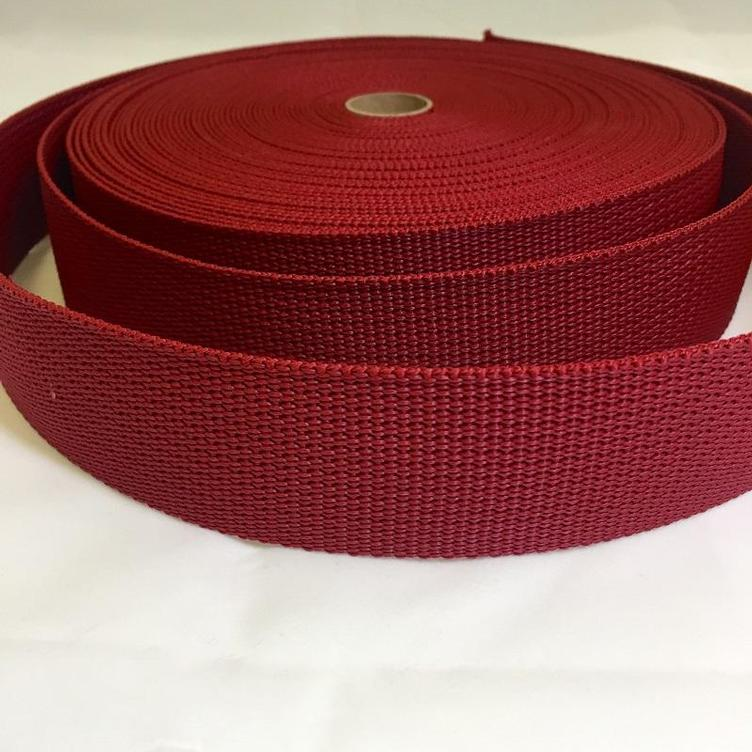 Gurtband 40 mm bordeaux GANZE ROLLE