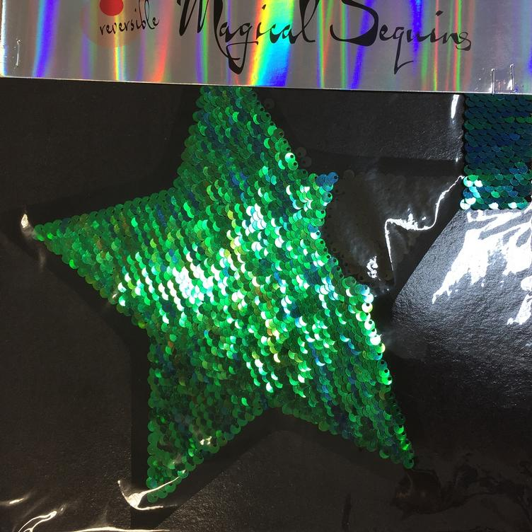 Magical Sequins Starshine Stern mermaid/schwarz