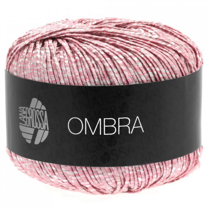 Ombra rosa - weiss 015