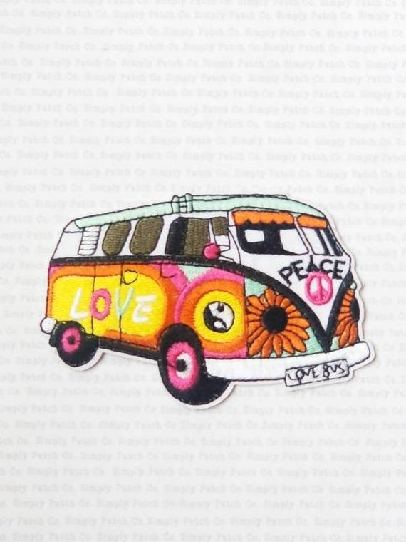 Patch VW Bus Bulli Love&Peace