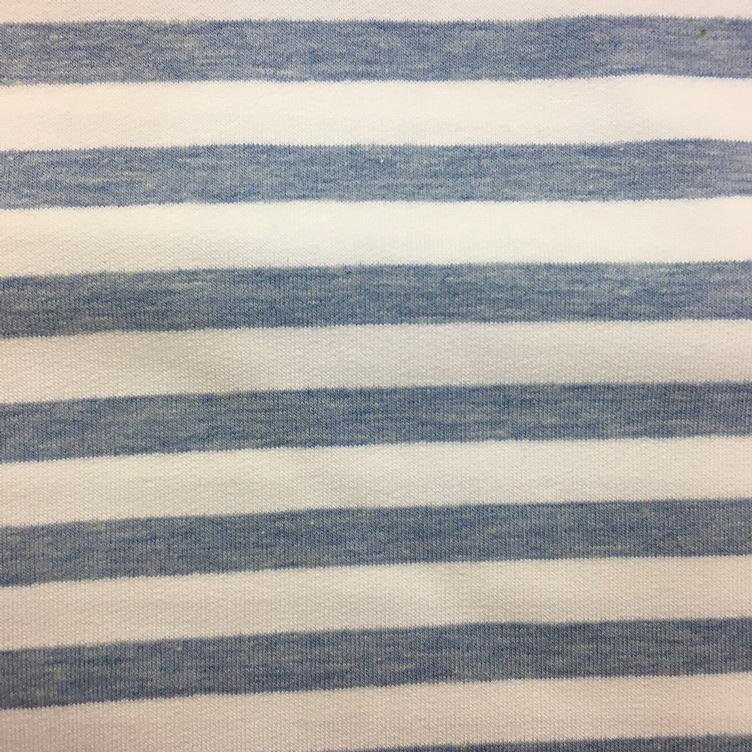 Sommer Sweat Stripe 04 blau