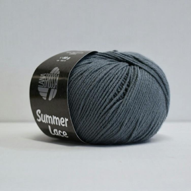 Summer Lace 013 blaugrau