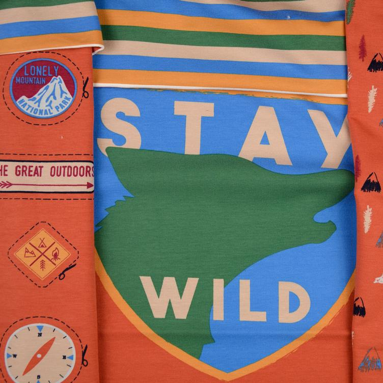 Sweat Paneel Stay Wild METERPREIS