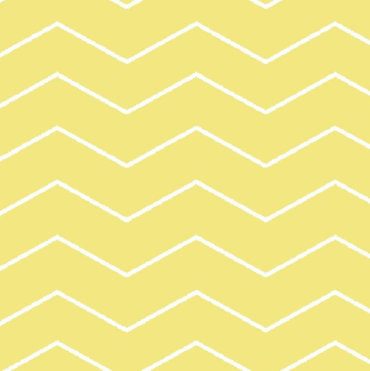 Tillisy Canvas Chevron gelb