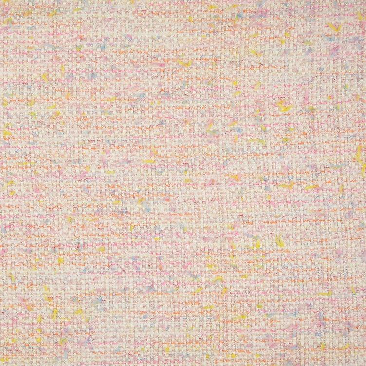 Tweed Bouclé rosa METERPREIS